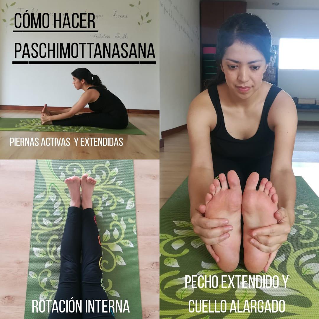 Cómo practicar: paschimottanasana