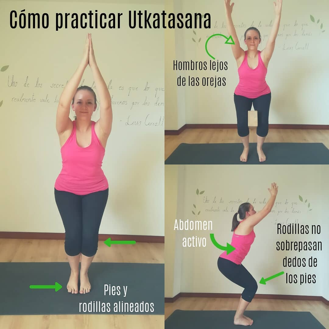 Cómo practicar: Utkatasana